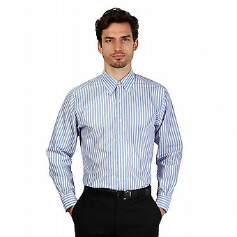 Brooks Brothers Shirts 100040434 Men Blue