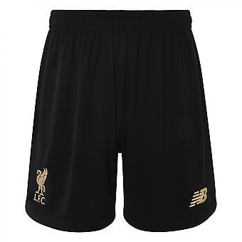 2019-2020 Liverpool Home Goalkeeper Shorts (Black)