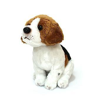 Cuddly Critters Dog Benny Jnr Sitting Beagle 15cm