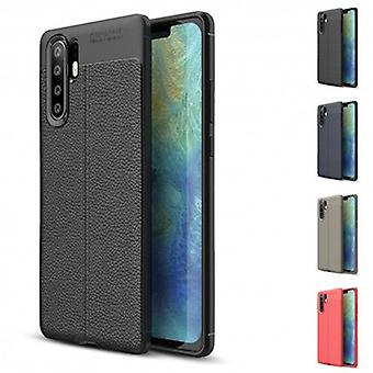 Leather patterned Tpu Shell Huawei P30 Pro (Vog-l29)