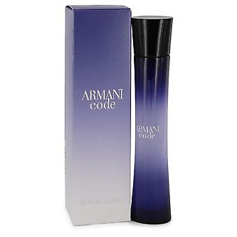 Armani Code by Giorgio Armani Eau De Parfum Spray 2.5 oz / 75 ml (Women)