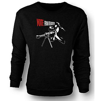 Womens Sweatshirt Sniper - Vote From The Rooftop