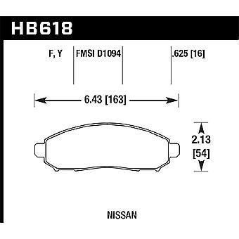 Hawk Performance HB618Y.625 LTS