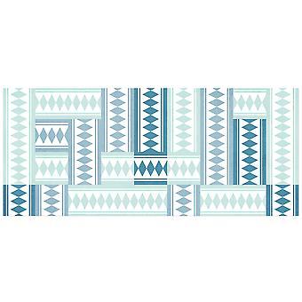 Hapro Vinyl carpet Hapro turquoise tiles (Decoration , Carpets)