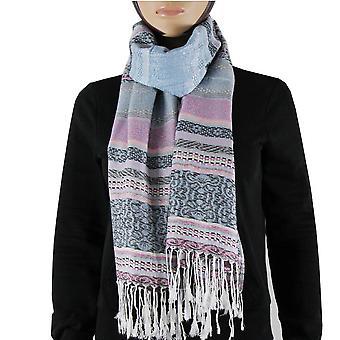 Scarf/shawl/Shawl 100% Pashmina Purple Multi Color
