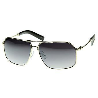 Premium Style métal asiatique Fit qualité optique lunetterie lunettes de soleil aviateur