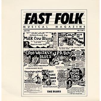 Fast Folk Musical Magazine - Vol. 1-Fast Folk Musical Magazine (6) the Blue [CD] USA import