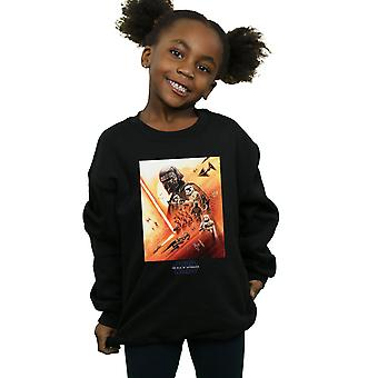 Star Wars The Rise Of Skywalker First Order Poster Girls Sweatshirt