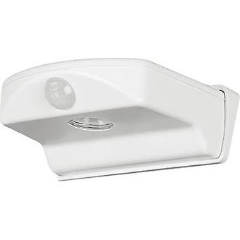 LED outdoor wall light (+ motion detector) 1.6 W Cold white OSRAM Door 4052899196445 White