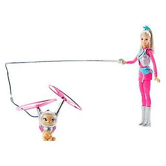 Barbie & Pet Flying In Space (Bambini , Giocattoli , Bambole , Bambole)