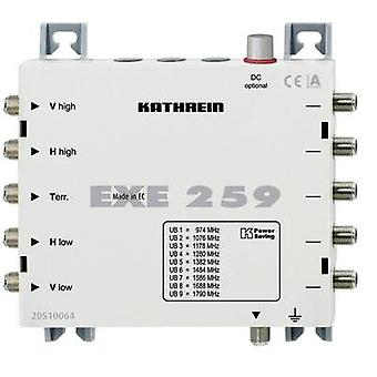 SAT unicable cascade multiswitch Kathrein EXE 259 Inputs (multiswitches): 5 (