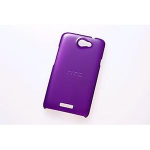 HTC protective case cover for HTC one X purple