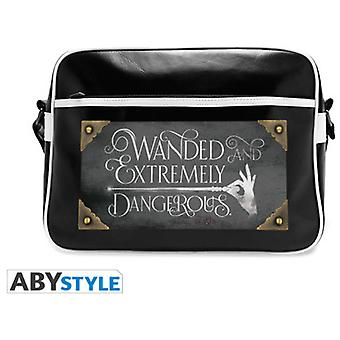 Abysse Fantastic Beasts Messenger Bag Wanded & Dangerous Vinyl