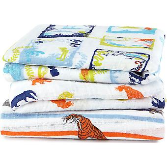 Aden + Anais Disney Baby Muslin Squares 3 Pack - The Jungle Book