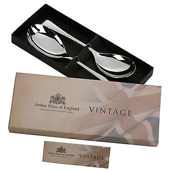 Arthur Price Vintage Design qui dessert cuillère & fourche