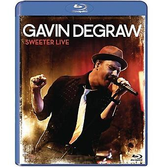 Gavin Degraw - Sweeter Live [Blu-ray] USA import