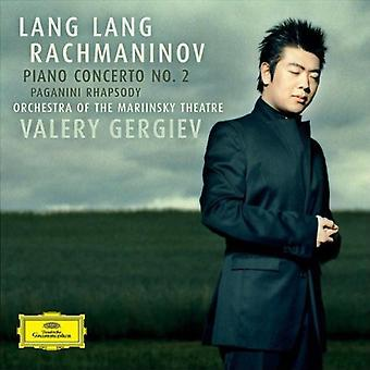 Lang Lang - Rachmaninov: Piano Concerto No. 2; Paganini Rhapsody [CD] USA import
