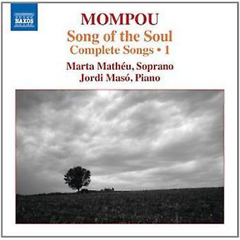 Mompou/Matheu/Maso - sången om Soul-komplett låtar 1 [CD] USA import