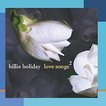 Billie Holiday - Billie Holiday: Vol. 2-Love Songs [CD] USA import