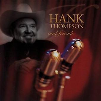 Importación de Hank Thompson - amigos [CD] Estados Unidos