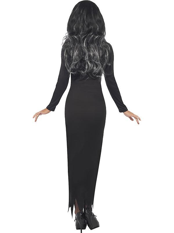 01a1fbda9612 Skelett klänning Halloween ben dress kostym dam | Fruugo