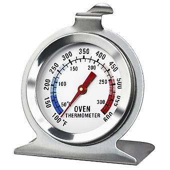 TRIXES Stainless Steel Free Stand & Hanging Oven Thermometer Dial Kitchen Gadget