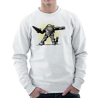 Parre Bond Big Daddy lillesøster BioShock mænds Sweatshirt