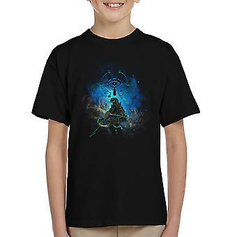 Adem van de Wild legende van Zelda Kid's T-Shirt