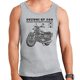 Haynes Owners Workshop Manual Suzuki GT 380 Triple Men's Vest