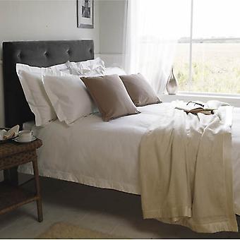1000 thread Luxus Bettwäsche aus ägyptischer Baumwollsatin weiß