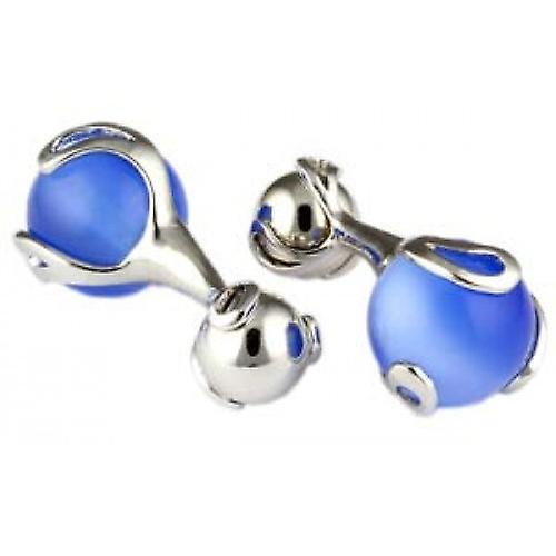 Mousie Bean Ball Crasher Cufflinks - Blue