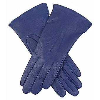 Dents Jessica Classic Imipec Leather Gloves - Blueberry