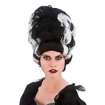 Adults Ladies Wicked Queen Wig Halloween Fancy Dress Accessory