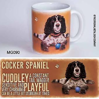 Original Metal Sign Co Mug Cocker Spaniel