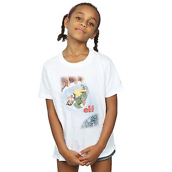 Elf Girls Distressed Poster T-Shirt