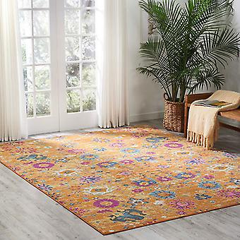 Rugs -Passion PSN07 - Teal / Sun
