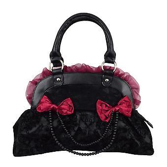 Prohibido el negro y bolso Borgoña reinvención