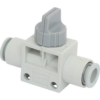 SMC Blue Rotary Knob Pneumatic Manual Control Valve, Pbt, 0 To +60C