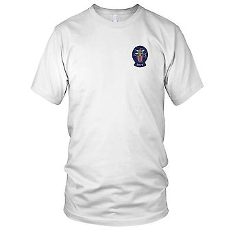 121st Fighter Squadron Embroidered Patch - Mens T Shirt