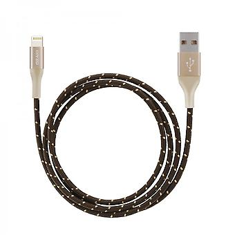Ozaki OT222AGD O! Tool T-cable charger L100 lightning 1 m - gold