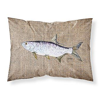 Carolines Treasures  8774PILLOWCASE Fish - Tarpon Moisture wicking Fabric standa