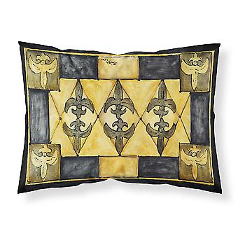 Carolines Treasures  8089PILLOWCASE Fleur de lis Moisture wicking Fabric standar