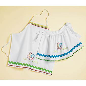 Stamped Pillowcase Apron Kit 30