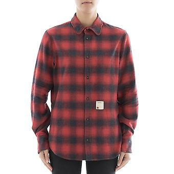 Dsquared2 women's S72DL0514S48131001F red cotton shirt