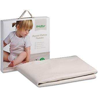 The Little Green Sheep Organic Cot/Cot Bed Mattress Protector