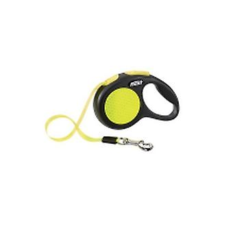 Flexi-Bogd New Neon Tape Extra Small Dog Lead (3M)