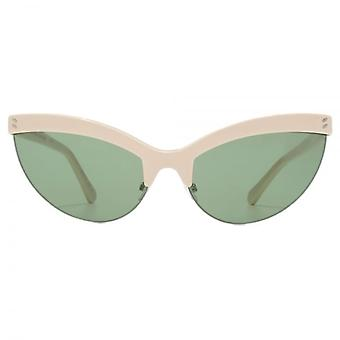 Stella McCartney Iconic Cateye Sunglasses In White