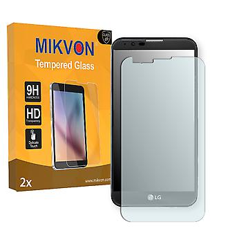 LG X mach Screen Protector - Mikvon flexible Tempered Glass 9H (Retail Package with accessories)