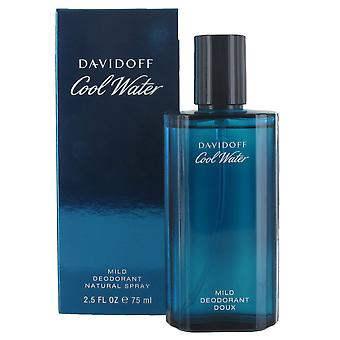 Davidoff Cool Water Homme 75ml Deodorant Spray for Men