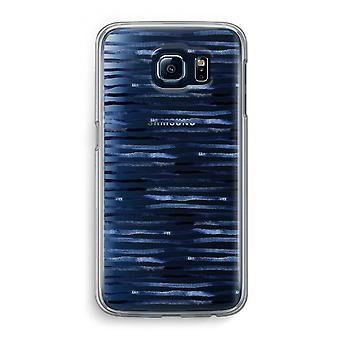 Samsung Galaxy S6 Transparent Case (Soft) - Surprising lines